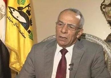 اللواء عبدالفتاح حرحور محافظ شمال سيناء