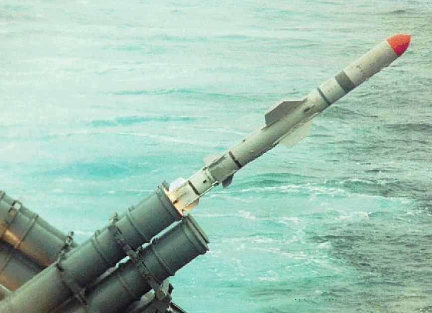 الطرادات الصاروخية الخفيفة من الفئة بدر**Badr class Light Missiles Cruisers Harpoon-cg73-0006