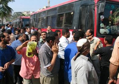 إضراب السائقين
