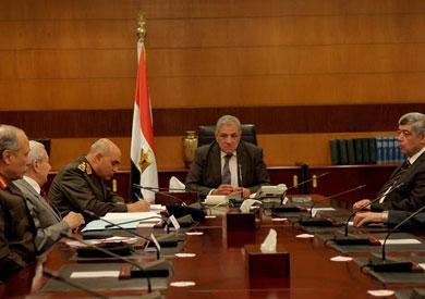 مجلس الوزراء في اجتماعه اليوم الأربعاء، برئاسة المهندس إبراهيم محلب رئيس المجلس