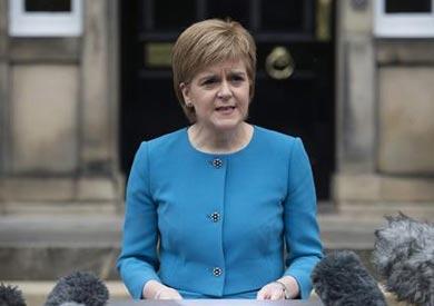 رئيسة وزراء أسكتلندا، نيكولا سترجن