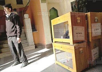 صناديق الانتخابات تصوير فادى عزت