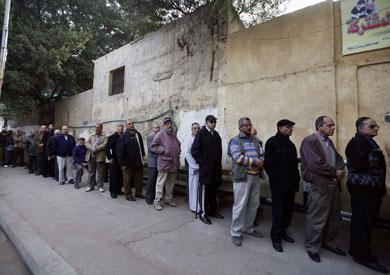 طابور من الناخبين خلال الاستفتاء على دستور 2012- أرشيفية