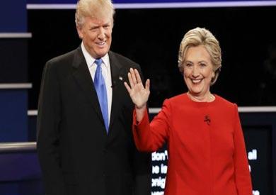 هيلاري كلينتون و دونالد ترامب