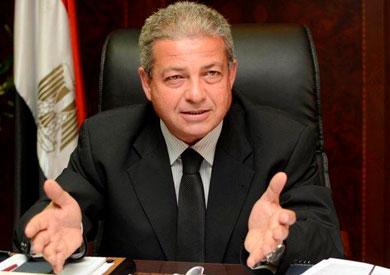 المهندس خالد عبد العزيز، وزير الشباب والرياضة