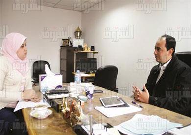 عمرو عثمان -مدير مصلحة الادمان -تصوير جيهان نصر