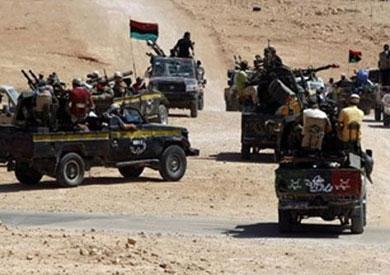 الاشتباكات في ليبيا