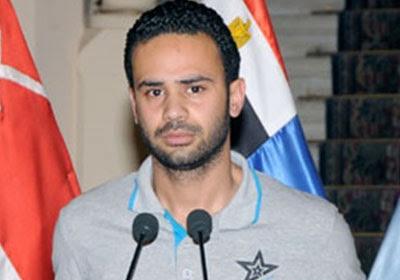 محمود بدر منسق حركة تمرد