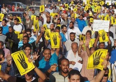 مسيرات لأنصار المعزول بالغربية