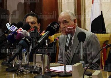 المستشار عزت خميس - تصوير: احمد عبد الفتاح