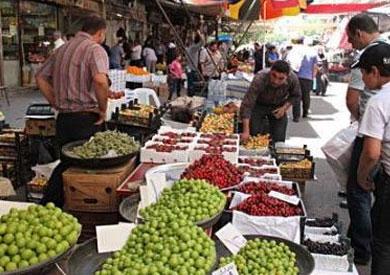 أحد أسواق الخضار والفاكهة