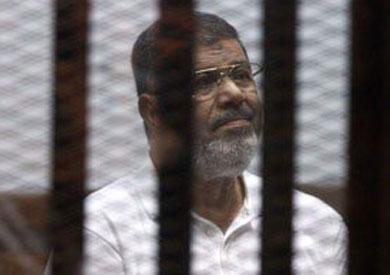 محمد مرسي في القفص - ارشيفية