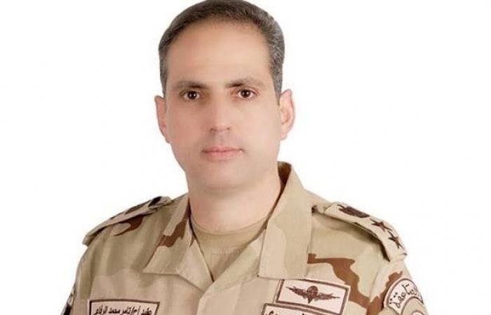 تعيين العقيد أركان حرب «تامر الرفاعي» متحدثًا عسكريًا للقوات المسلحة المصرية