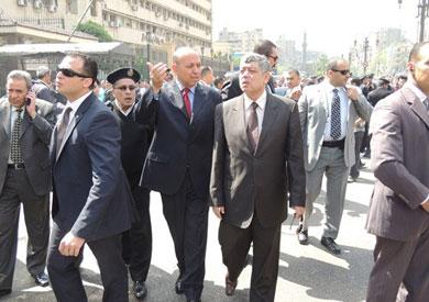 وزير الداخلية أثناء جولة تفقدية- أرشيفية