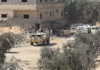 مقتل 88 «تكفيريا» في سيناء خلال 4 أيام