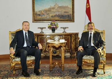 مرسى وأردوغان .. ذهب الاول ..ومازال الثاني يواجه احتجاجات