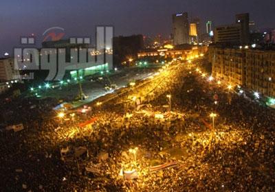 ميدان التحرير ليلاً - تصوير: كريم عبد الكريم