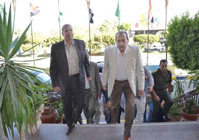 الدكتور عصام فايد وزير الزراعة واستصلاح الأراضى