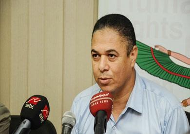 المدير التنفيذى للمنظمة المصرية لحقوق الإنسان، طارق زغلول