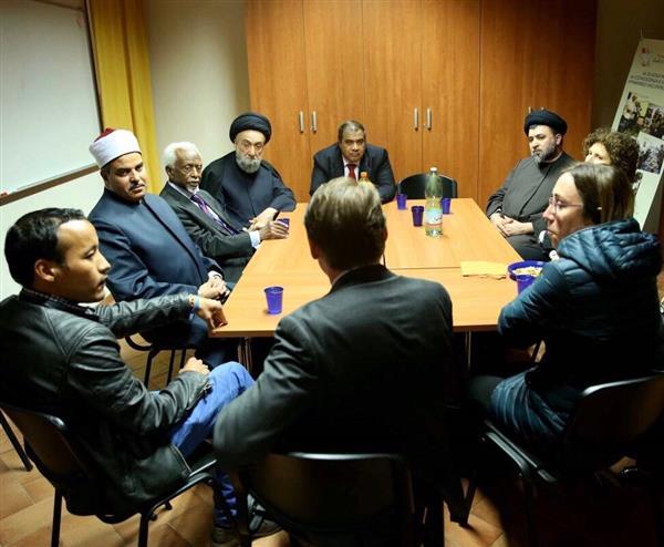 رئيس جامعة الأزهر يزور مدرسة سانت إيجيديو للاجئين بإيطاليا