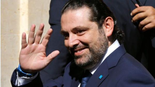 «الحريري» وسط حشود اللبنانيين: مكملين سوا لندافع عن لبنان واستقراره