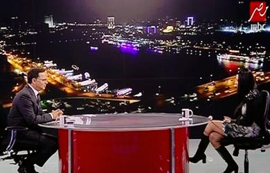 صافيناز في ضيافة شريف عامر في برنامج «يحدث في مصر» على قناة «MBC مصر»