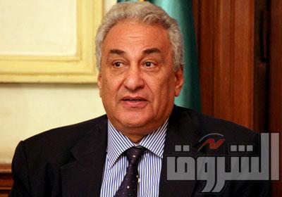 سامح عاشور رئيس المجلس الاستشاري - تصوير: كريم عبد الكريم