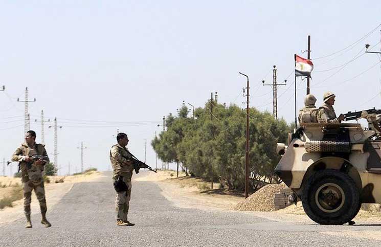المتحدث العسكري يعلن استهداف بؤر إرهابية بوسط وشمال سيناء