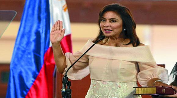 نائبة الرئيس الفلبيني تعتذر عن ابتسامها عند النصب التذكاري لضحايا الهولوكوست في ألمانيا