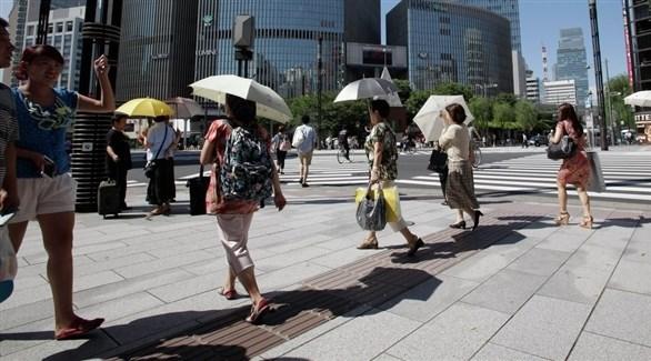 أكبر موجة حر في تاريخ اليابان.. ودرجات الحرارة تصل إلى 41