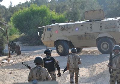 المتحدث العسكري: مقتل 18 إرهابيا واستشهاد 3 من عناصر القوات المسلحة في عمليات مداهمة بسيناء