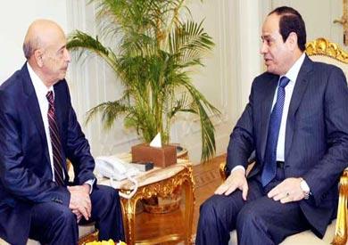 استقبال الرئيس السيسي لعقيلة صالح رئيس مجلس النواب الليبي ارشيفية