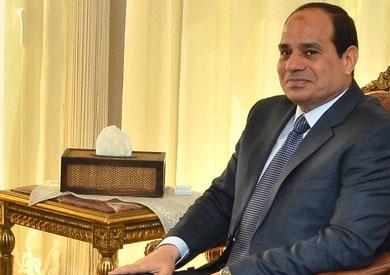 عبد الفتاح السيسى رئيس الجمهورية