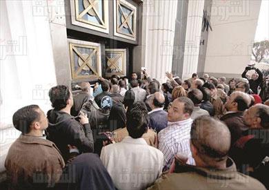 محكمة جنوب القاهرة - تقديم اوراق المرشيحن للبرلمان 2015 تصوير احمد عبد الجواد