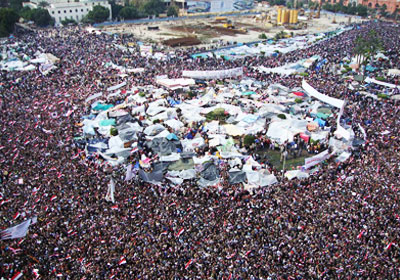 صورة أرشيفية لميدان التحرير