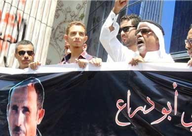 وقفة الاحتجاجية أمام محكمة الجلاء بالإسماعيلية