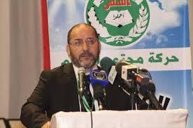 رئيس حركة مجتمع السلم الجزائرية عبد الرزاق مقري