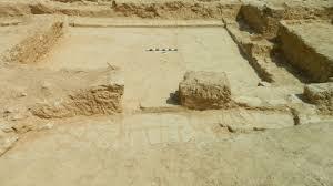 «الآثار»: اكتشاف موقع أثري يضم عدة حجرات ترجع للعصر الروماني والبيزنطي بميت أبو الكوم