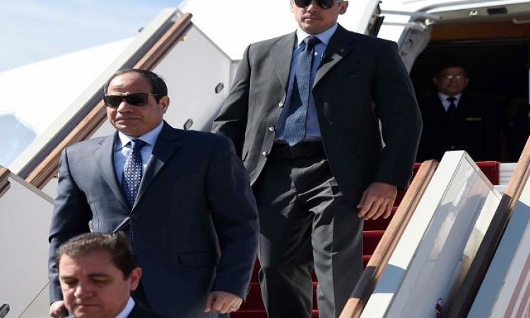 الرئيس السيسي يتوجه إلى الإمارات في زيارة رسمية تستغرق يومين
