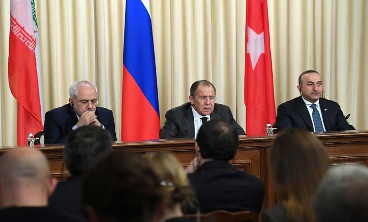 السبت.. «روسيا» و«إيران» و«تركيا» يجتمعون بموسكو لمناقشة الوضع بسوريا