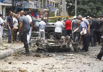 تفجير النائب العام - تصوير رافي شاكر