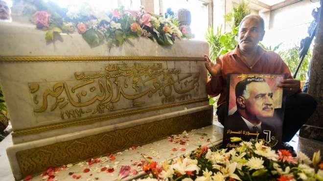 حضور عربي «واسع» بضريح «عبدالناصر» في الاحتفال بمئوية ميلاده