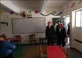 محافظ القاهرة يتفقد اعمال ترميم مدرسة جمال عبد الناصر