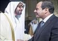 الرئيس عبد الفتاح السيسي و الشيخ محمد بن زايد آل نهيان