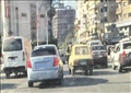 سيارات مطموسة الأرقام وبدون لوحات معدنية تسير فى شوارع رئيسية بالمنصورة تصوير نعمان سمير