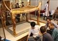 مراسم لاستقبال «السرير الجنائزي» و«العجلة الحربية» لتوت عنخ آمون بالمتحف الكبير