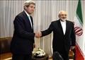 وزيرا الخارجية الأمريكى جون كيرى ونظيره الإيرانى محمد جواد ظريف