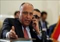 «شكري» يجري اتصالا هاتفيا مع رئيس المجلس الرئاسي الليبي بعد تعرض موكبه لإطلاق نار