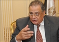 المستشار إبراهيم الهنيدى، وزير العدالة الإنتقالية