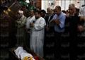 تصوير: رافي شاكر – جانب من حضور الجنازة